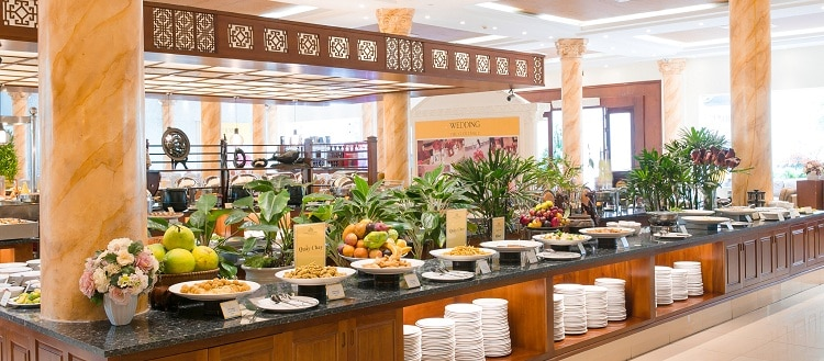 huong sen seafood buffet restaurant - 750px