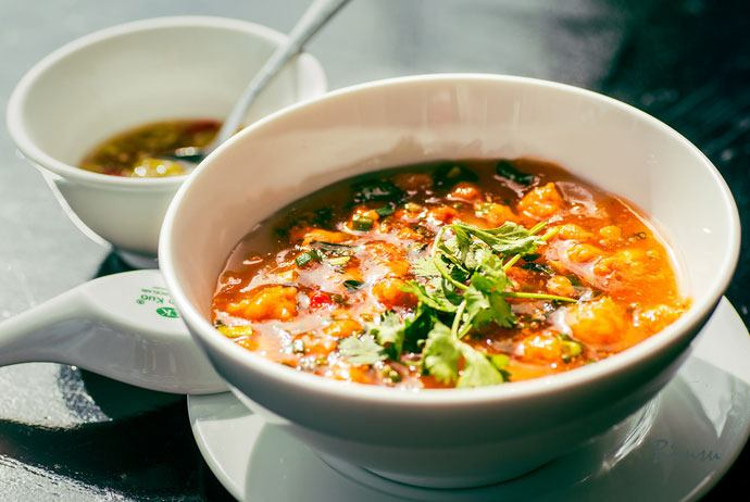 banh canh nam pho – nam pho thick noodle soup