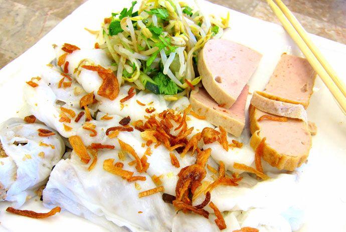 banh cuon thanh tri – thanh tri steamed rolled rice pancake