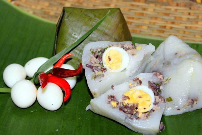 banh gio – hai phong pyramid rice dumpling