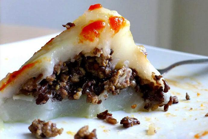 banh gio – pyramidal rice dumpling