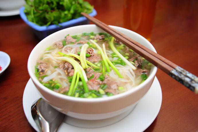pho trau – buffalo noodle soup