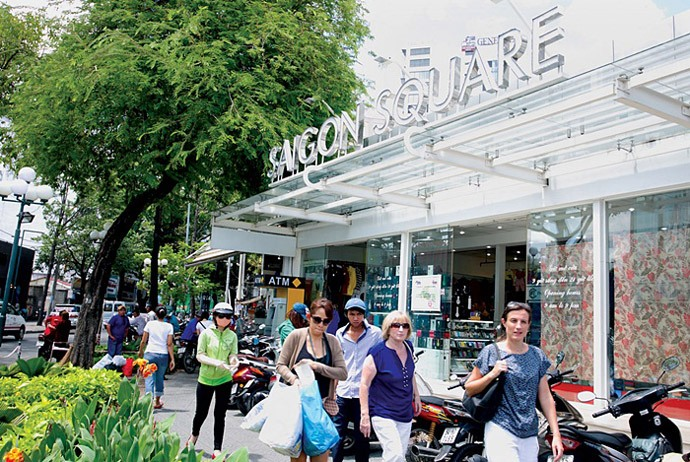 shopping in Ho Chi Minh