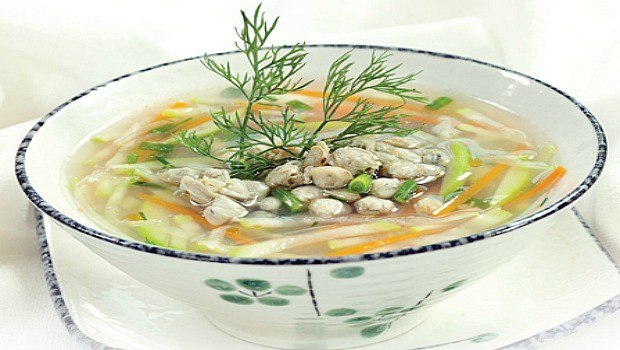 gourd mussel soup