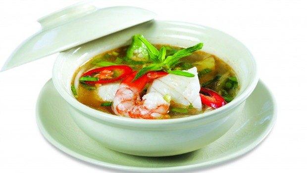 seafood squash soup