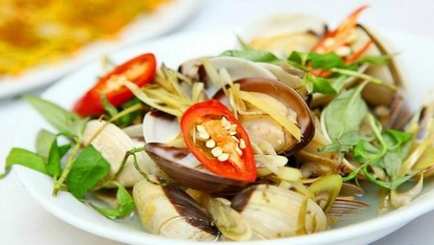 sour clam soup