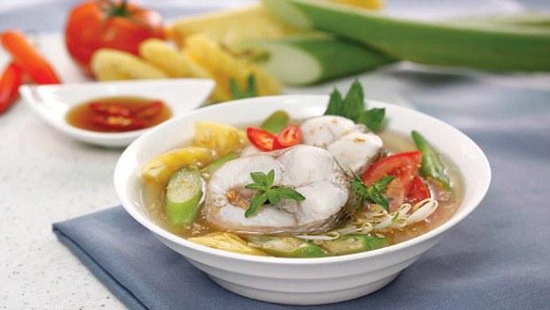 sour snakehead soup