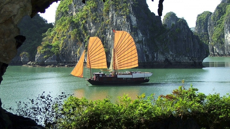 things to do in halong bay - ride on cat ba island