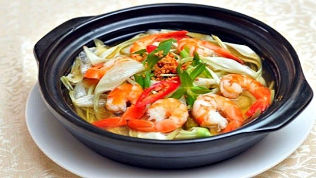 turnip shrimp soup