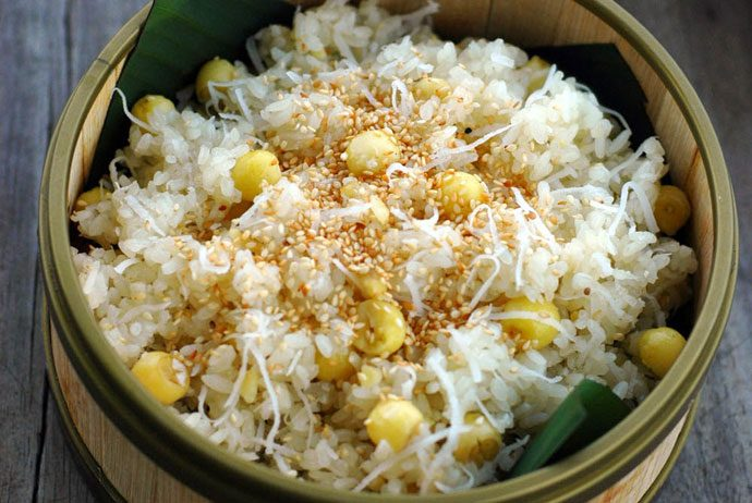 Vietnamese sticky rice dishes