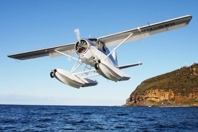 discover halong Bay from above on seaplanes