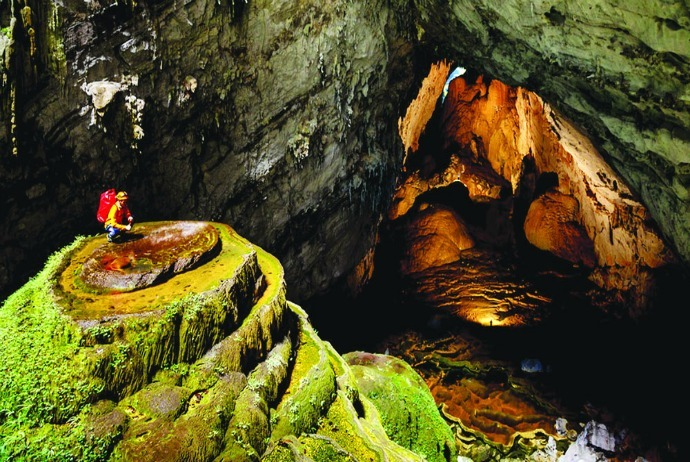 why Quang Binh Has many unspeakably beautiful caves