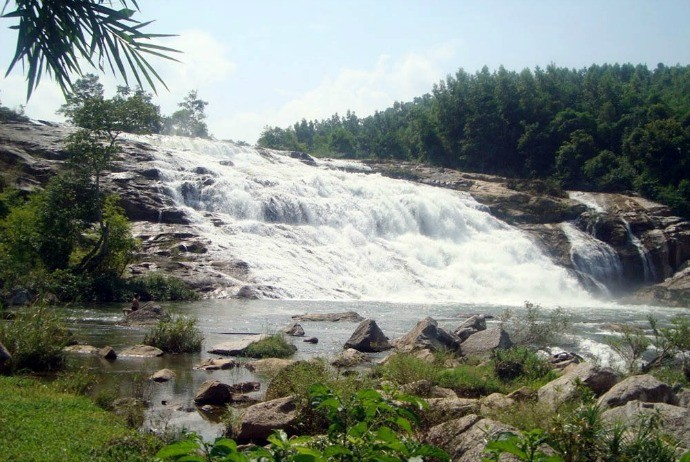 7-storey waterfall in Nghe An