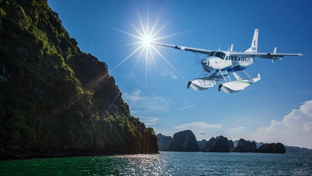 Discover The Beauty Of Halong Bay From Above On Seaplanes