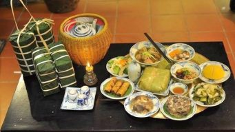 Vietnamese new year food