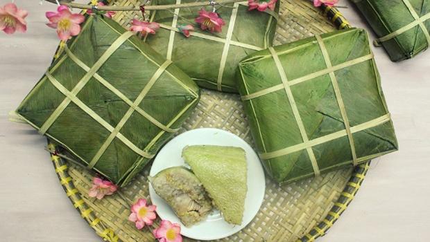 Vietnamese Chung Cake Recipe (Bánh Chưng)