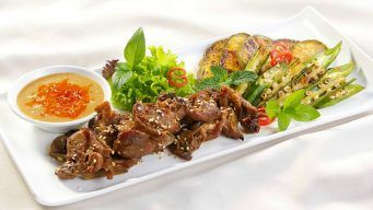 Grilled Goat Meat
