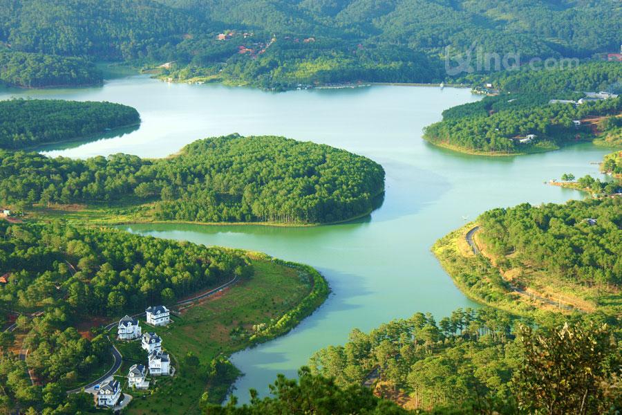 Landscape of Dalat