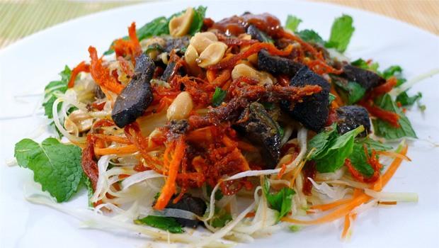 Vietnamese Beef Jerky & Green Papaya Salad