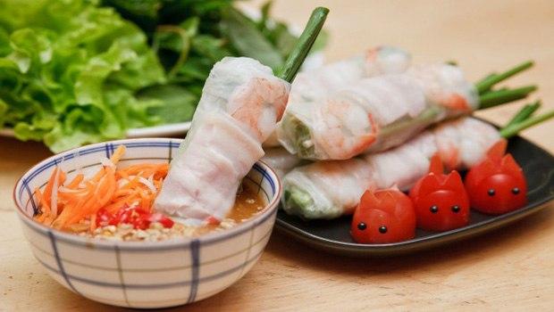 Vietnamese Salad Rolls Recipe (Gỏi Cuốn)