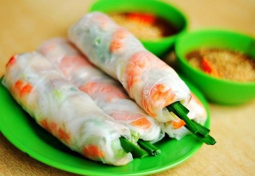 Vietnamese Salad Rolls