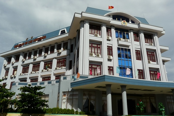 thien cam beach - trade union hotel