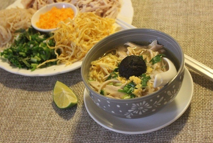vietnamese combo vermicelli soup – the introduction