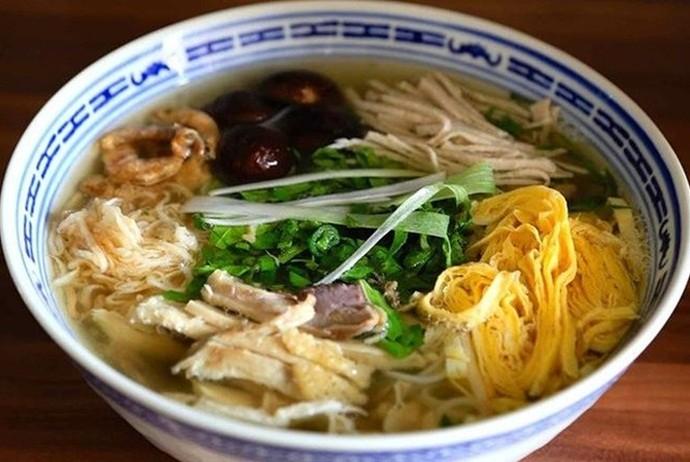 vietnamese combo vermicelli soup - bun thang 144d2 giang vo