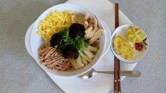 vietnamese combo vermicelli soup
