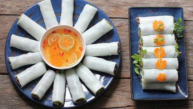 vietnamese fresh rice noodle rolls