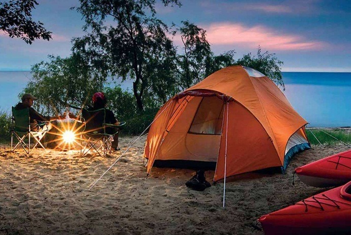 what are attractions in ninh van bay - camp