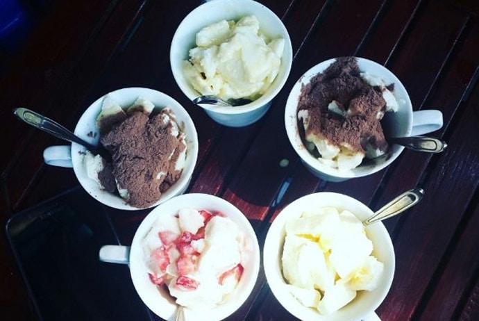 clammy yogurt on cat linh street - lozi
