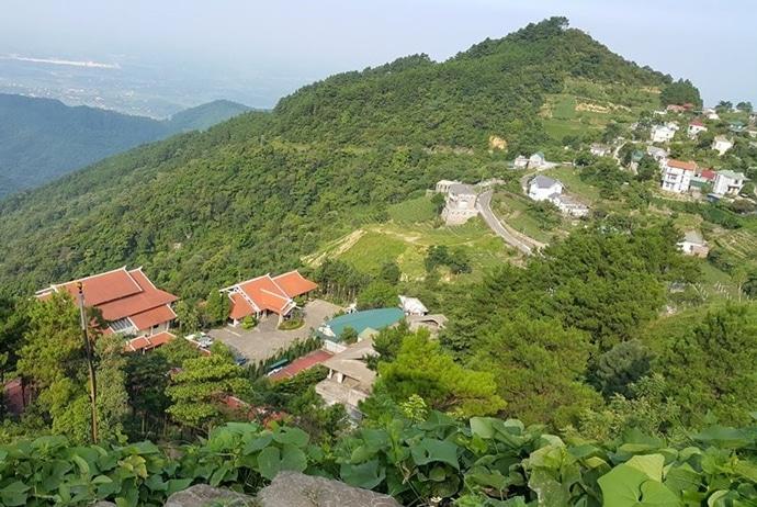 tam dao travel guide - general view of tam dao