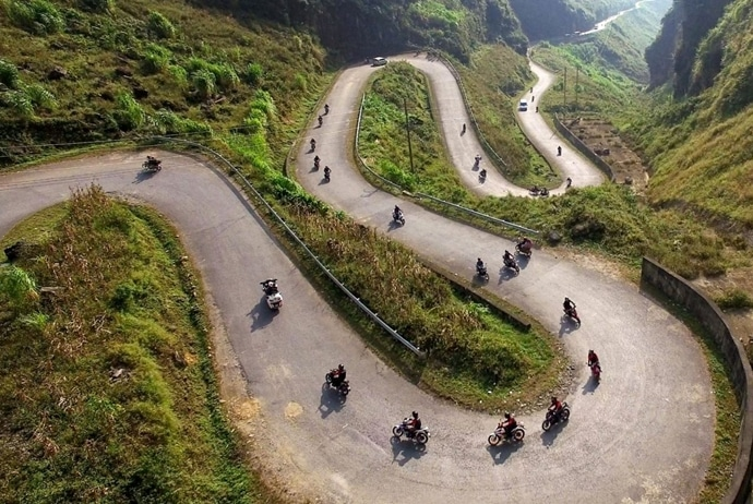 hoang su phi terraced fields in harvest season - how to get to hoang su phi