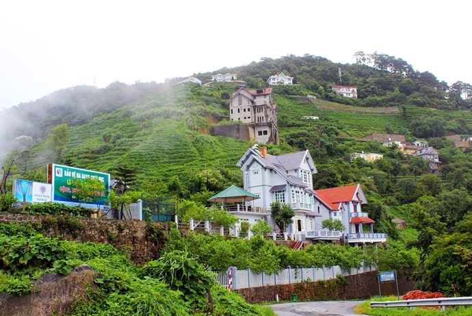 tam dao travel guide - hotels in tam dao