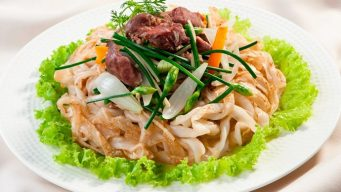 stir-fried 'pho' – pho xao