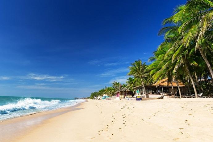 bãi biển reo