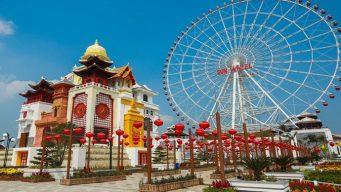 asia park da nang rides
