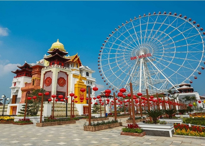 Asia Park Da Nang – Try Out The Most Thrilling Rides In Vietnam