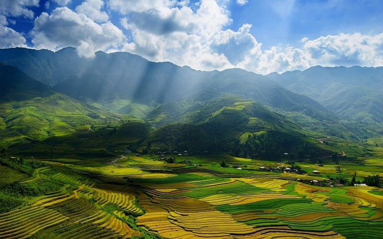 best places to visit in vietnam - sapa