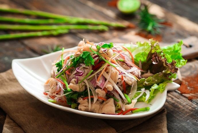 vietnamese boneless chicken feet salad