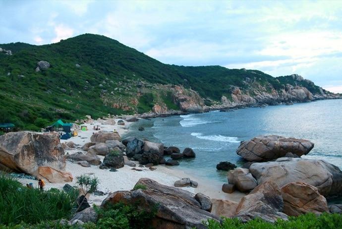 ghenh island in phan thiet - how to get to ghenh island