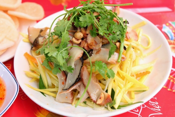 Vietnamese Green Mango Salad – Nom Xoai – Let's Check It Out In Hanoi!
