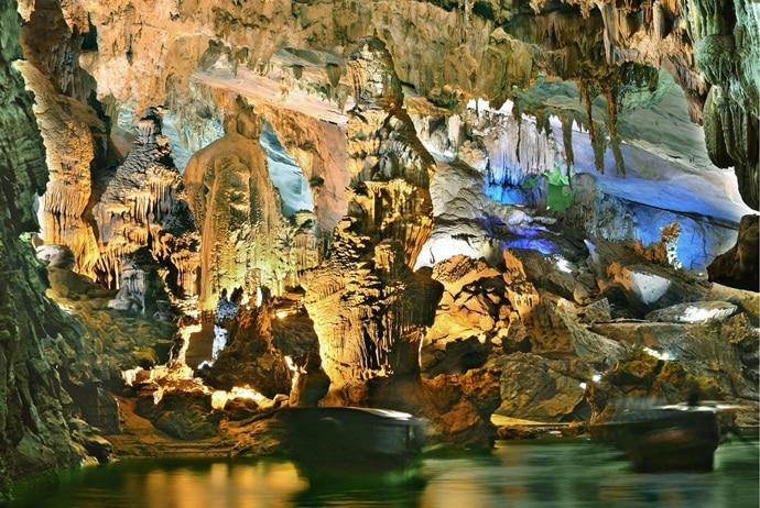 phong nha cave - sections of phong nha cave