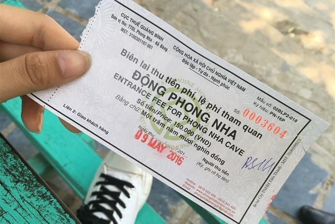 phong nha cave - tickets