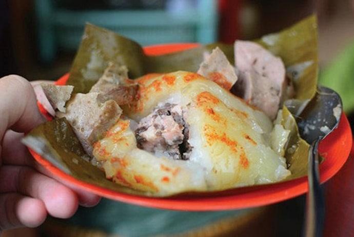 pyramidal rice dumpling - pyramidal rice dumpling on nguyen cong tru street