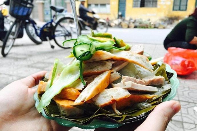 pyramidal rice dumpling - pyramidal rice dumpling on thuy khue street