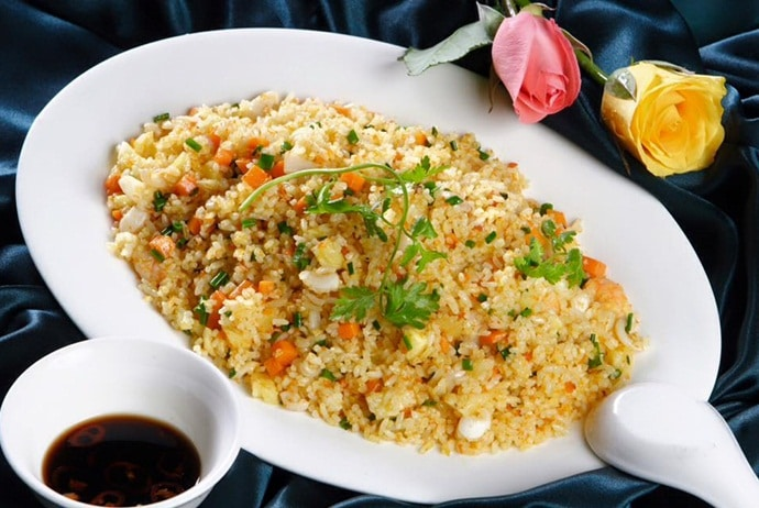 salted fish fried rice - gusto thai