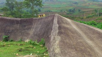 sapa ancient rock field in vietnam