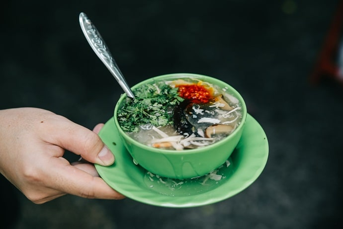 vietnamese crab soup - sup cua co bong